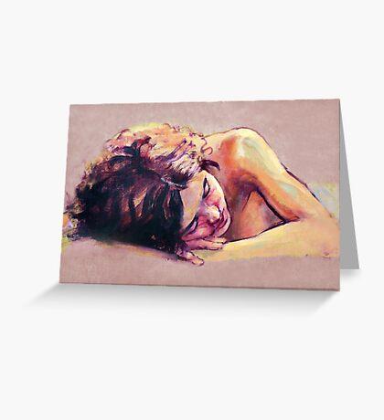 Kuni sleeping Greeting Card