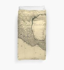 Map of Mexico (1779) Duvet Cover