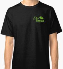 Classic Vegan Vegan Vegan Leaf Logo Classic T-Shirt