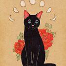 Rose City Kitty by LeaBarozzi