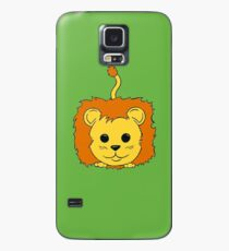 Lion Cartoon Doodle Case/Skin for Samsung Galaxy