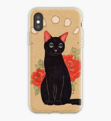 Rose City Kitty iPhone Case