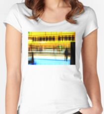 Flinder's Street Station BML Women's Fitted Scoop T-Shirt