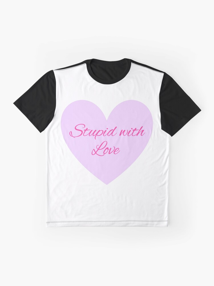 Vista alternativa de Camiseta gráfica Estúpido con amor - Mean Girls Broadway