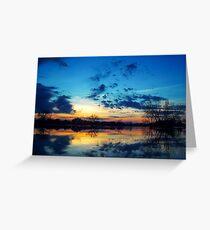 Water Dreams (001) Greeting Card