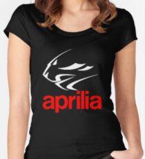 Aprilia Women's Fitted Scoop T-Shirt
