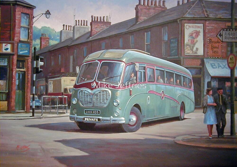 Bedford SB Duple by Mike Jeffries