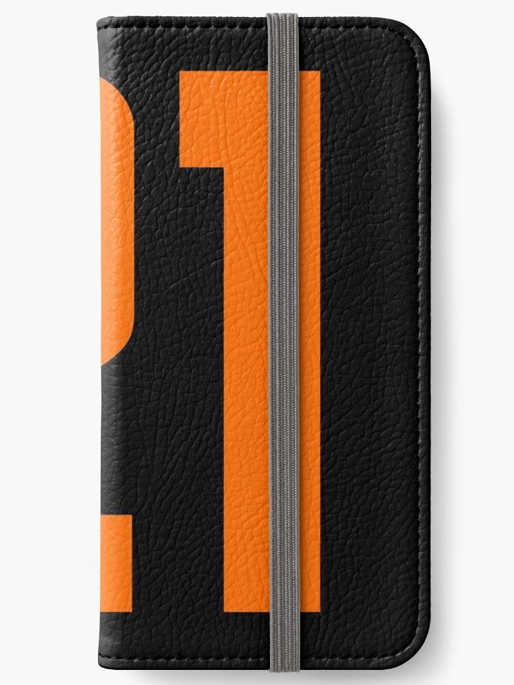 Orange Number 21 by wordpower900