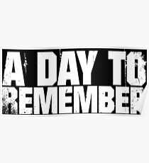 A Day To Remember Poster