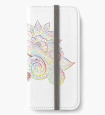 Mandala Floral rainbow Design iPhone Wallet/Case/Skin