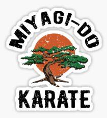 Miyagi Do Karate Distress Sticker