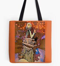 Sally in Orange Tote Bag