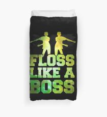 Floss Dance Floss wie ein Boss Galaxy Green Bettbezug
