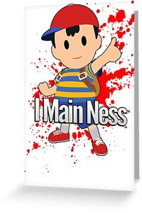 I Main Ness - Super Smash Bros. by PrincessCatanna