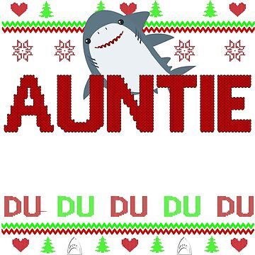 auntie shark by ZEETEESAPPAREL