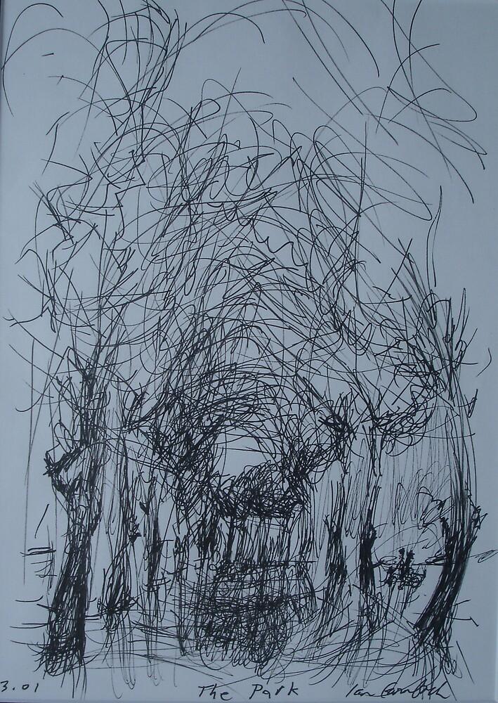 Winter park           2darts,  by Ian Farnbach