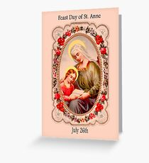 Traditional catholic greeting cards redbubble good st anne feast day july 26th greeting card m4hsunfo