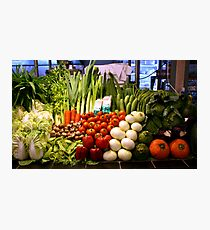 Vegetables, Chiang Mai, Thailand Photographic Print