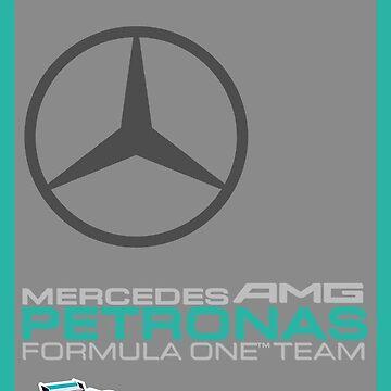 Mercedes F1 Team by F1Dynamics