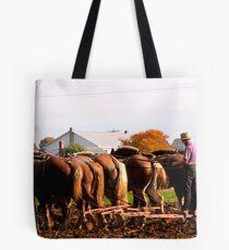 Six Horse Hitch Tote Bag