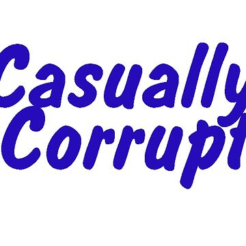 Casually Corrupt Navy (Small) by CasuallyCorrupt