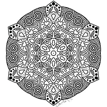 «Mandala» par Omelia-Plude