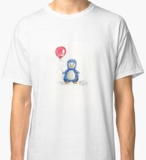Puddle penguin Classic T-Shirt