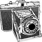 Vintage camera by ZnDigitalPrints