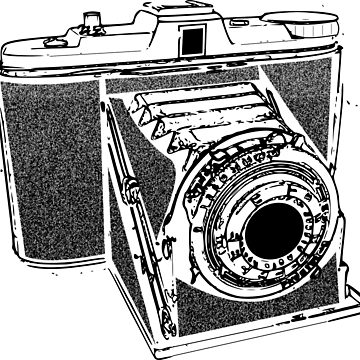 Vintage camera by ZnDigitalPrints