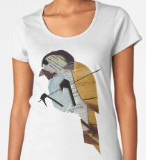Bird on a Wire Women's Premium T-Shirt