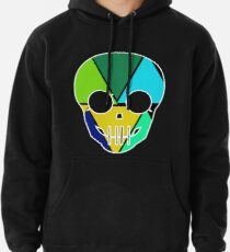 colorful skull Pullover Hoodie