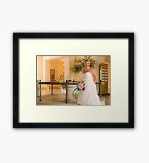 Bride Framed Print