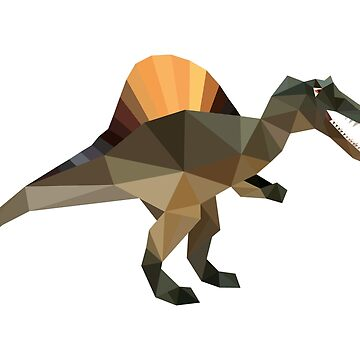 Dino Low Poly Art by IvonDesign