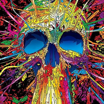 Artistic Skull by AlexFernandez05