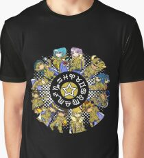Saint Seiya: The Gold Saints Graphic T-Shirt