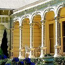 Ironlace verandah by Alina Holgate