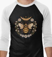 Camiseta ¾ bicolor para hombre Luna de miel