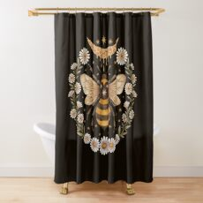 Honey moon Shower Curtain