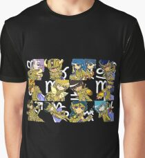 Saint Seiya: The Gold Saints #2 Graphic T-Shirt