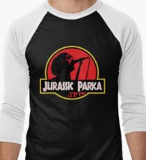 Jurassic Parka Men's Baseball ¾ T-Shirt