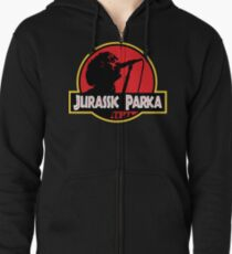 Jurassic Parka Zipped Hoodie