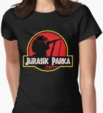 Jurassic Parka Women's Fitted T-Shirt