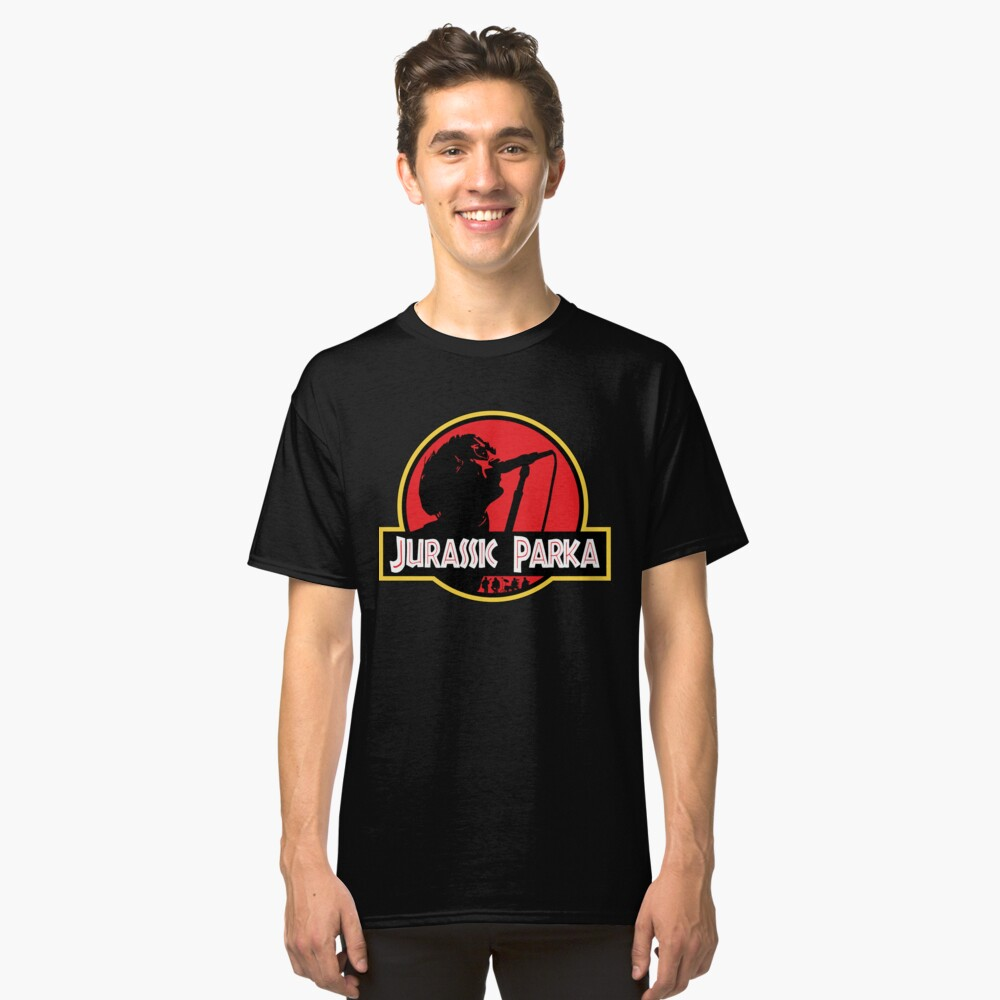 Jurassic Parka Classic T-Shirt Front