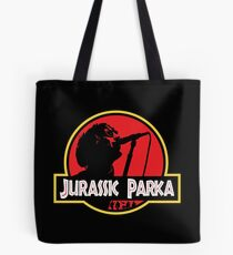 Jurassic Parka Tote Bag