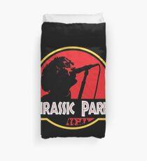 Jurassic Parka Duvet Cover