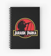 Jurassic Parka Spiral Notebook