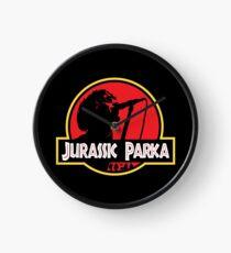 Jurassic Parka Clock