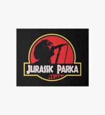 Jurassic Parka Art Board Print