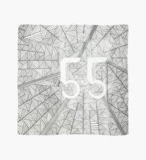 55 Birthday Pattern Scarf