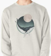by the light of the moon Pullover Sweatshirt